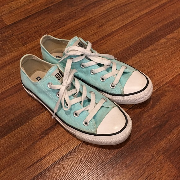 c085997ce366 Converse Shoes - Light blue Converse All Stars Women s Sz 6